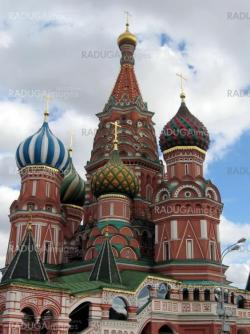 Moscow temple at Red Square