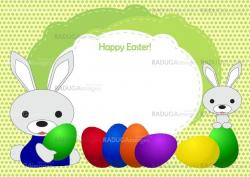 greeting card to a happy Easter