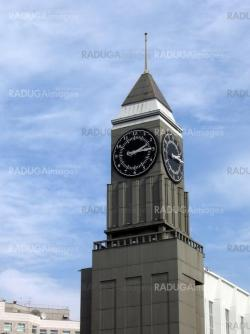 Tower with clocks