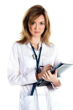 A woman doctor