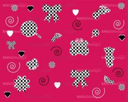 seamless pink wallpapers patterns  vector