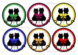 Cats love button