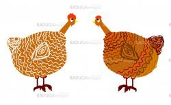chicken,  illustration