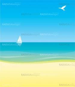 white yacht in blue sea under blue sky  background