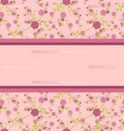 pink seamless pattern with clear space for your test vector