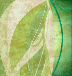 Green grunge abstract eco background