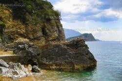 mountains and cliffs on the Adriatic Sea