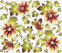 Seamless background from a flowers ornament, fashionable modern wallpaper or textile.Chrysanthemum.