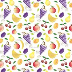 fruits - seamless pattern and abstract nature background