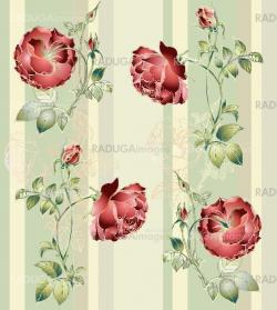 Seamless background from a flowers ornament, fashionable modern wallpaper or textile