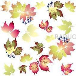 Seamless background.Illustration wild grapes. Autumnal background.