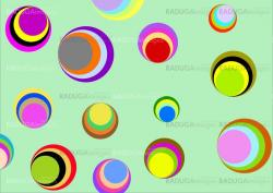 color circles background