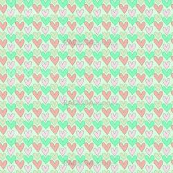 Abstract love seamless pattern