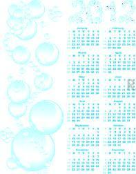 vector calendar 2012  on blue bubble background
