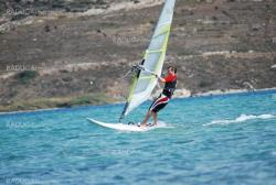 windsurfing  on the move