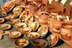 Souvenirs from wooden