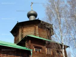 Wood orthodox church